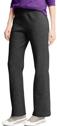Hanes ComfortSoft Women's Petite Open Bottom Leg Sweatpant__M