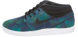 Nike SB Lunar Stefano Janoski Mid Tie Dye Sneakers w/ Tags