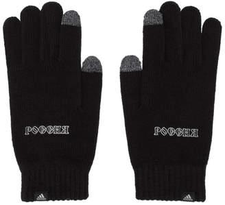 Gosha Rubchinskiy Black adidas Originals Edition Knit Gloves