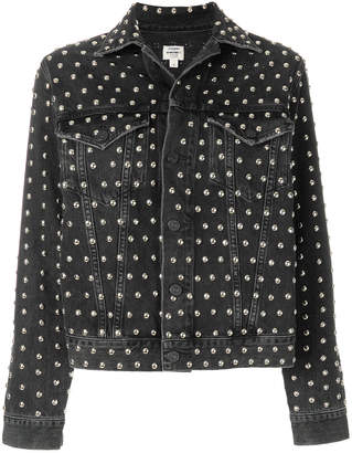 Citizens of Humanity studded denim jacket