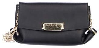 Zac Posen Leather Flap Crossbody Bag