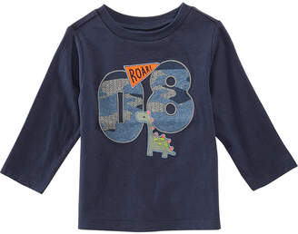 First Impressions Toddler Boys Varsity-Print Cotton T-Shirt, Created for Macy's