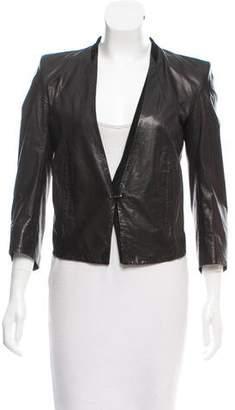 Helmut Lang Lightweight Leather Jacket