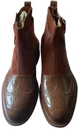 Vivienne Westwood Brown Plastic Boots
