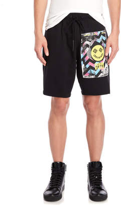 Religion Vibes Graphic Shorts