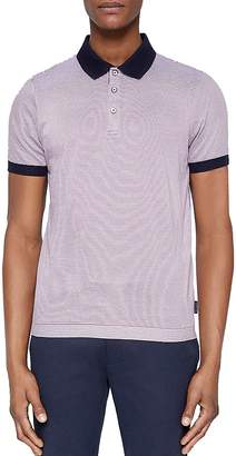 Ted Baker Beagle Striped Ribstart Regular Fit Polo