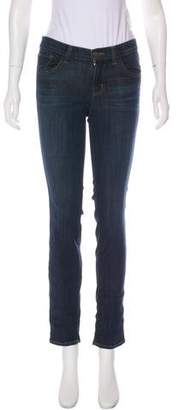 J Brand Enchanted Mid-Rise Jeans