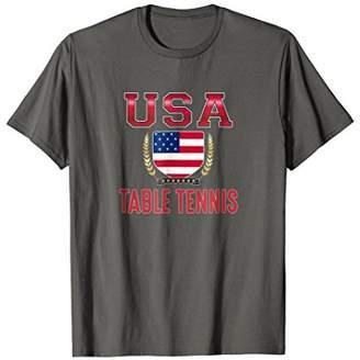 USA Table Tennis T-shirt