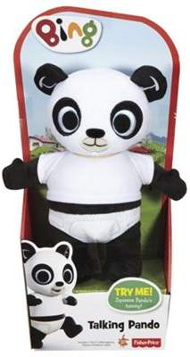 Fisher-Price Bing Talking Pando Soft Toy