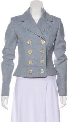 Michael Kors Cropped Wool Blazer