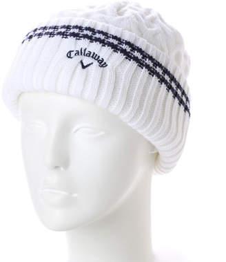 Callaway (キャロウェイ) - キャロウェイ Callaway レディース ゴルフ ニット帽子 リブニットキャップ 7284901