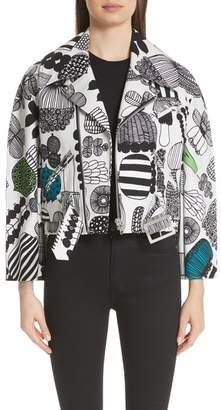 Junya Watanabe Vegetable Print Coat