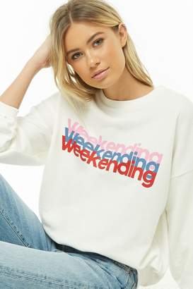 ac1c9b59cbf Forever 21 White Sweats   Hoodies For Women - ShopStyle Canada