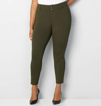 Avenue 3-Button Ponte Jegging