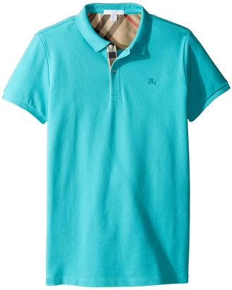 Burberry Kids - Mini PPM Polo Boy's Short Sleeve Knit $70 thestylecure.com