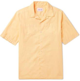 Albam Harlow Camp-Collar Cotton Shirt