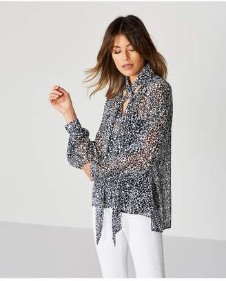 Bailey 44 Bailey/44 Snake Eyes Chiffon Shirt