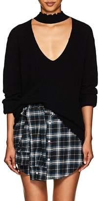 R 13 Women's Cashmere Choker Sweater
