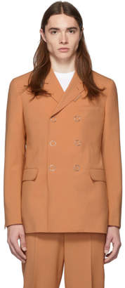 Burberry Orange Tailoring Blazer