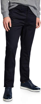 Kenneth Cole New York Men's Slim Straight Heathered Denim Jeans