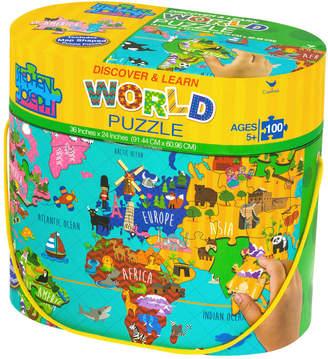 Stephen Joseph 100-Piece World Floor Puzzle