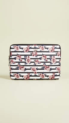 Kate Spade Rose Stripe Universal Laptop Sleeve