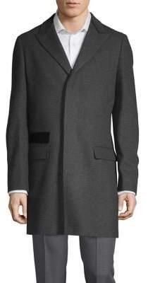 Black & Brown Black Brown Chesterfield Top Coat