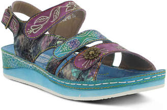 Spring Step L'Artiste by Sumacah Wedge Sandal - Women's