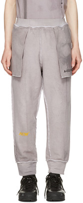 A-Cold-Wall* Reversible Grey 'The Meeting of Textures' Seamline Lounge Pants $240 thestylecure.com