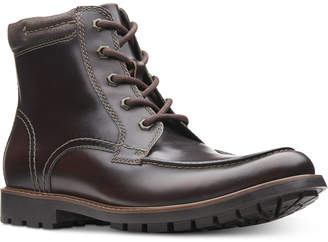 Clarks Men Currington High Leather Boots Men Shoes