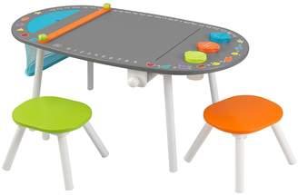 Kid Kraft Chalkboard Art Table and Stools Set