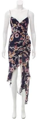 Nicholas Floral Silk Dress w/ Tags