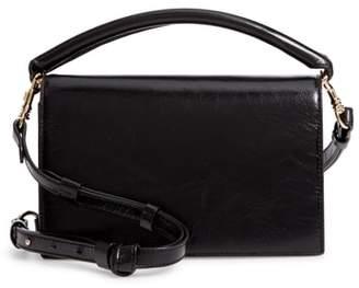 Diane von Furstenberg Bonne Soiree Leather Top Handle Bag