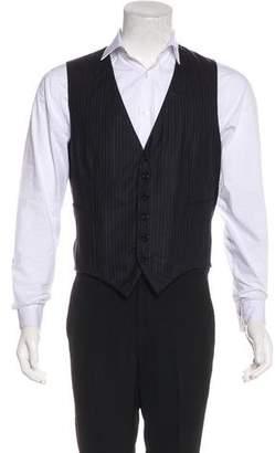 Kiton Striped Suit Vest
