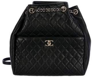 fc6f500342ee Chanel 2016 Quilted Drawstring Bucket Bag
