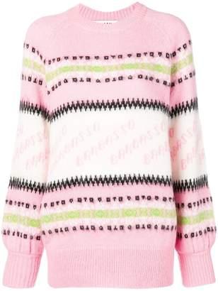 MSGM Barbasso knit jumper