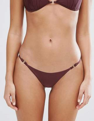 Missguided Scallop Bikini Bottom