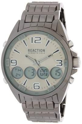 Kenneth Cole Reaction Men's Analog\u002FDigital Bracelet Sport Watch, 50mm