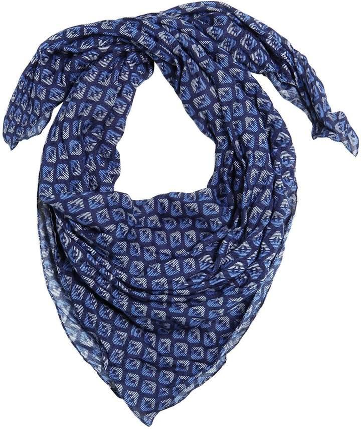 Schal Aus Feinem Strick Mit Logodruck