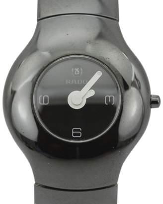 Rado Xeramo 160.0453.3 High Tech Ceramic Black Dial Quartz 37mm Mens Watch