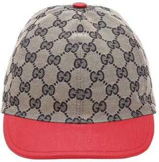 Gucci Gg Supreme Cotton Canvas Trucker Hat