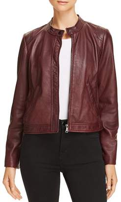 Rebecca Taylor Perforated Leather Jacket - 100% Exclusive