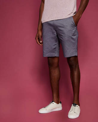 Ted Baker HERBOSH Herringbone stretch cotton shorts