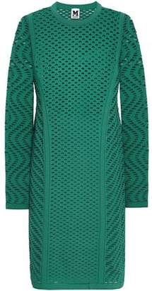 M Missoni Open-Knit Mini Dress