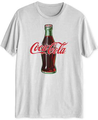 Hybrid Coca-Cola Throwback Men's Graphic T-Shirt