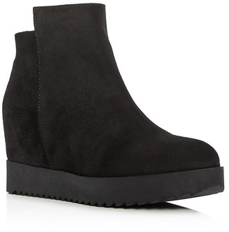 Kenneth Cole Moira Wedge Booties $190 thestylecure.com