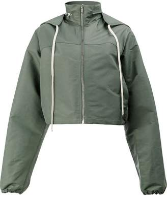Rick Owens hooded windbreaker jacket