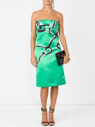 Marni Strapless sheath dress