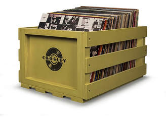 Crosley Electronics Record Storage Crate