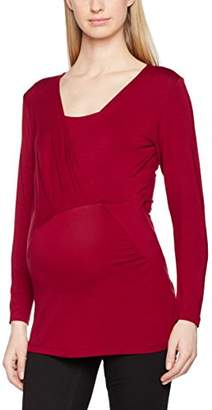 Mama Licious Mamalicious Women's MLMAISE Petit L/S Jersey TOP NF A Maternity Long Sleeve Top,(Manufacturer Size: Large)